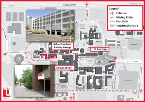 Building images with campus map